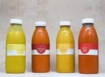 KBK Soup Cleanse Bottles 4 soups a day